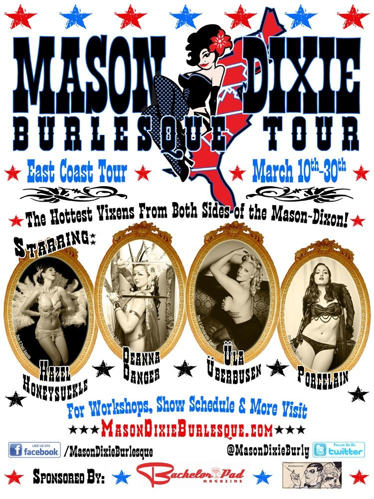 Mason Dixie Burlesque Tour